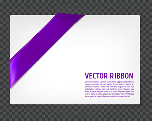 Corner vector ribbon