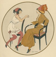 Social - Danish Women 1913. Date: 1913