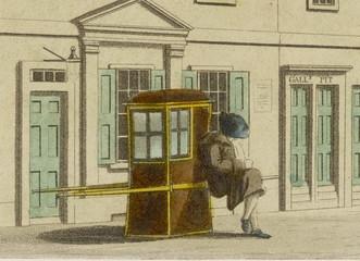 Sedan Chair - 1804. Date: 1804