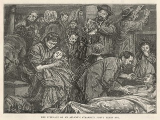 Emigration to Australia. Date: 1850