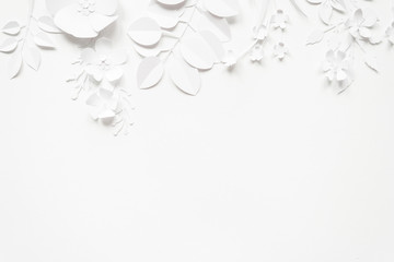 Hello, spring White paper flowers