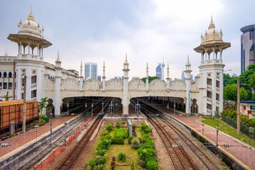 Poster Kuala Lumpur Kuala Lumpur railway station in kuala lumpur