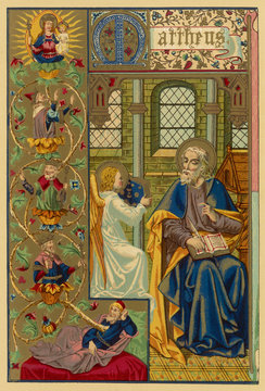St Matthew - Evang - Butler. Date: 1ST CENTURY