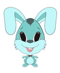 funny bunny boy