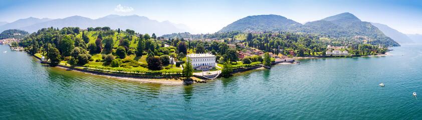 Bellagio - Loppia - Lago di Como (IT) - Villa Melzi e Villa Trivulzio con parco