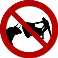 Prohibido torear. Deseo de una parte de la población de suprimir las corridas de toros.