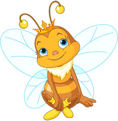 Cute Queen Bee