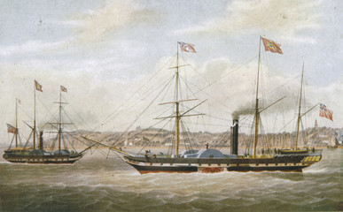 Neptune Steamship. Date: 1842