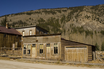 Abandoned Buildings in Ghost Town