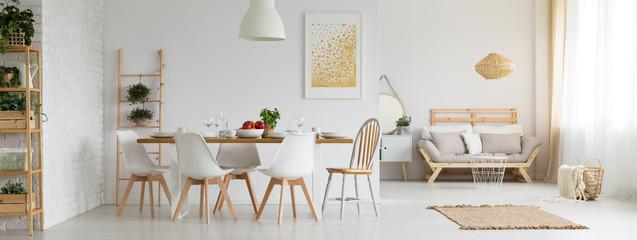 Fototapeta Stylish studio apartment obraz