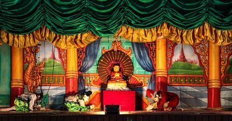 Myanmar - Marionetten in Bagan