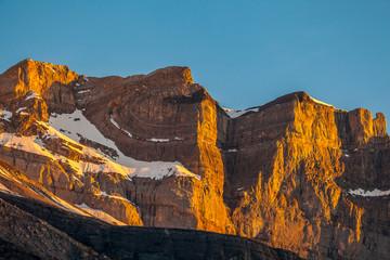 Randonnée dans les Alpes bernoises