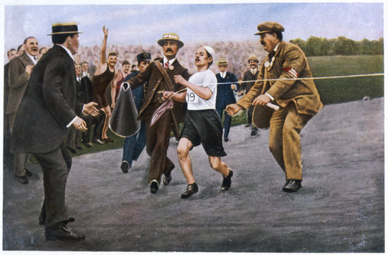 Olympics - 1908 - Marathon. Date: 3105