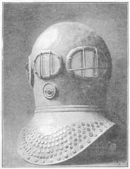First Diving Helmet. Date: 19th century