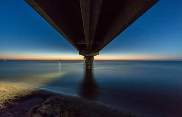nachtbild seebrücke prerow