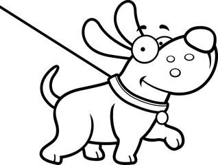 Cartoon Dog Walk