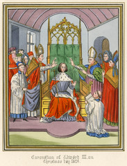 Edward III Crowned. Date: 25 December 1326