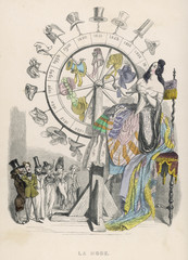 The Wheel of Fashion. Date: 1841