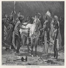 Racial - Medicine Pony. Date: 1890
