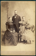 Family Photo 1897. Date: 1897