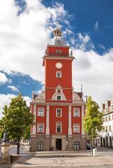 Das ALte Rathaus von Gotha in Thüringen