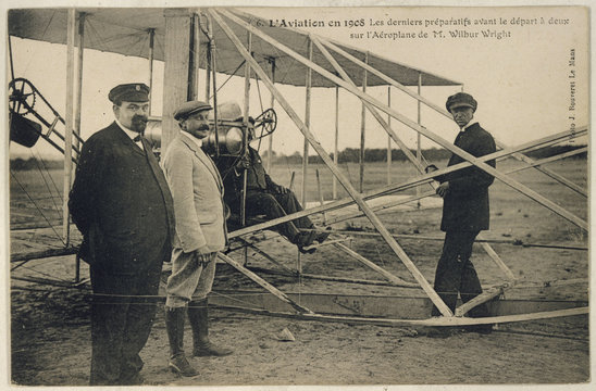 Wright Plane 1908. Date: 1908