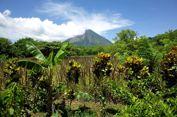 An amazing view of Volcan Concepcion on Isla Ometepe in Nicaragua