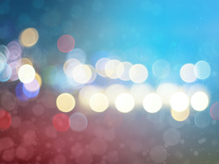 Colorful abstract bokeh background. Double exposure Illustration bokeh with light bokeh photo. Defocus photos. Light blurry background.