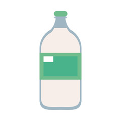 bottle with blank label icon image