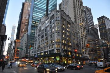 New-York winter 8th Avenue