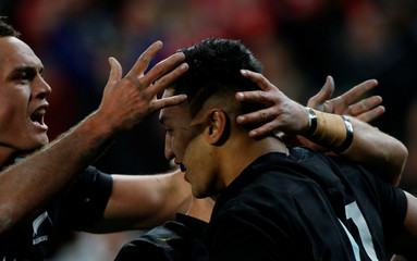 Rugby Union - New Zealand All Blacks v British and Irish Lions - Lions Tour