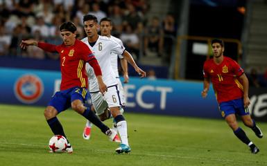 Spain v Italy - UEFA Euro U21 Championships Semifinals
