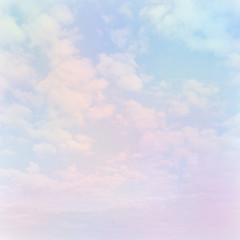 A soft sky with cloud background