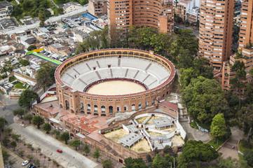 Amazing wallpaper Arena Bogotà city, Colombia, America. Corrida