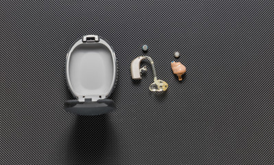 Individual digital hearing aid device for deaf and hard of hearing patients.