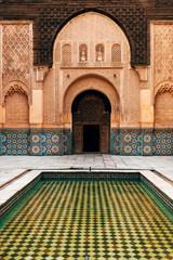 ben youssef madrasa interior, marrakech