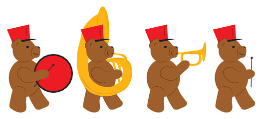 Bear Marching Band