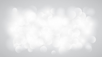 Abstract white blurred background