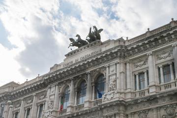 Foto op Canvas Berlijn Italian Palace of Justice in Rome, Italy