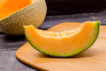 Melon, sweet fruit for pingsu, from Japan