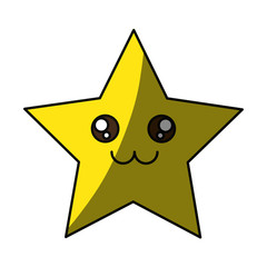 Cute star cartoon