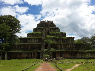 Cambodia. Koh Ker Temple. Preah Vihear Province.