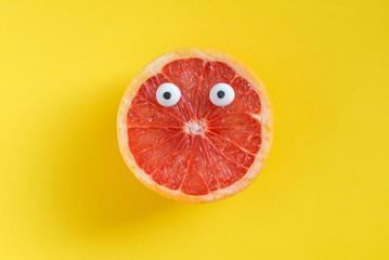 funny grapefruit