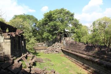 Cambodia. Beng Melea Temple. Siem Reap Province. Siem Reap City.