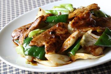 回鍋肉 Twice(double) cooked pork