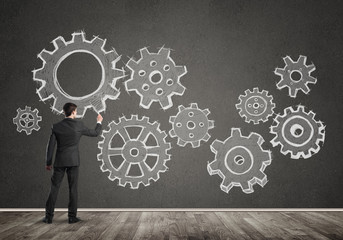 Business working mechanism