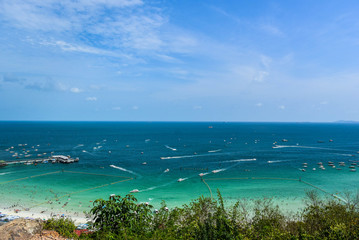 View at island in Thailand
