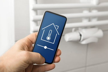 Smart house heating control