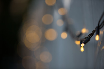 Fairy Lights on Marquee