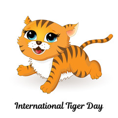 International Tiger Day.